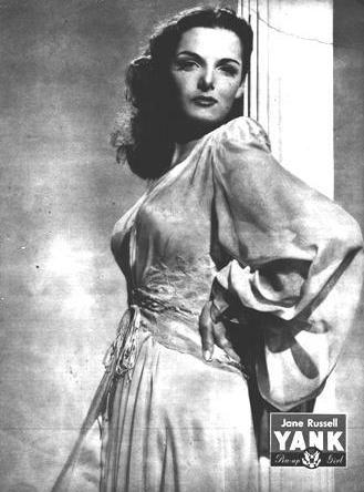 Jane Russell in Yank Magazine - 1945
