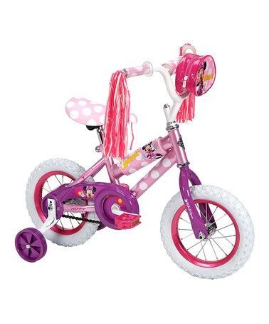 Look what I found on #zulily! Minnie Mouse 12-Inch Bike by Minnie Mouse #zulilyfinds  #bike
