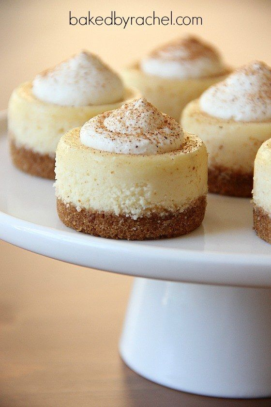 Christmas dinner recipes eggnog cheesecake and things to for Easy delicious christmas dessert recipes