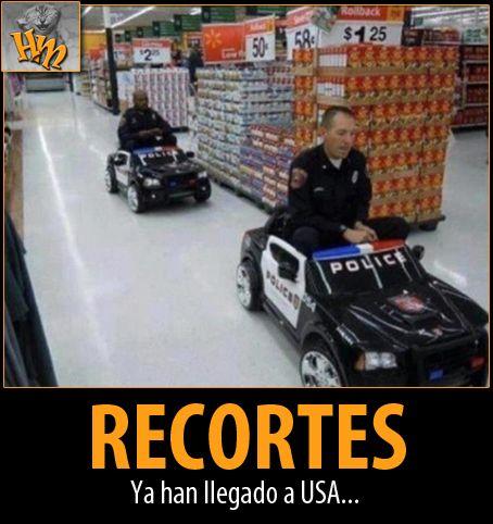 Humor and More: 663. Los polis americanos, preparados para lo que pueda venir...