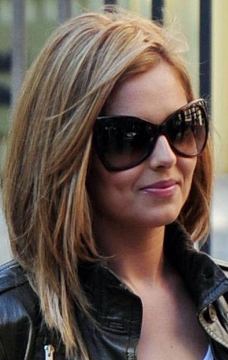 Pleasing Medium Hairstyles Shoulder Length Haircuts And Shoulder Length On Hairstyles For Women Draintrainus