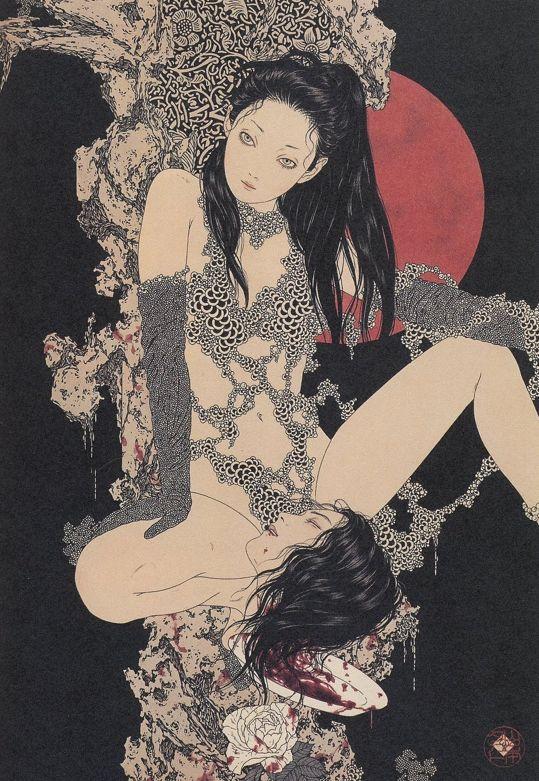 Juxtapoz Magazine - Takato Yamamoto