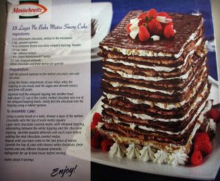 Dying for Chocolate: 18 Layer No Bake Matzo S'mores Cake for Passover