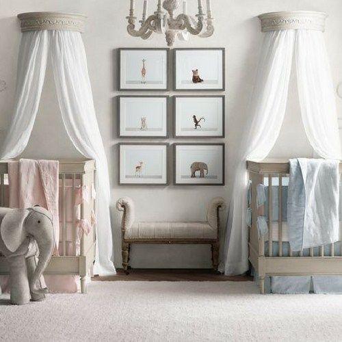 Perfect Sophieu0027s Twin Nursery (Petite Vintage Interiors)   Vintage Interiors, Twin  Nurseries And Petite