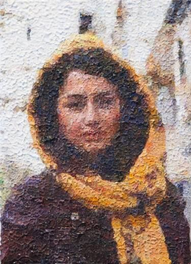 "Saatchi Art Artist Rachel Sharp; Painting, ""Woman in Iran"" #art"