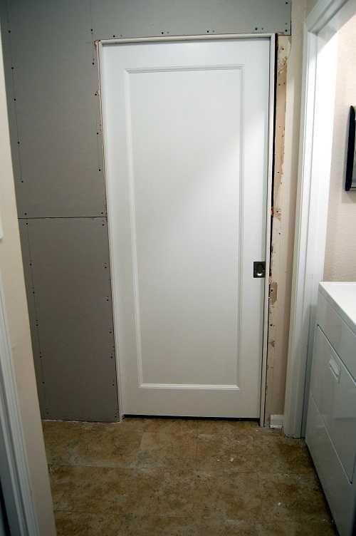 Drywall Pocket Door Tirm Installed Pocket Doors Doors Drywall