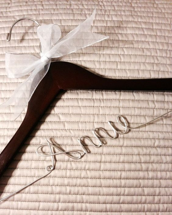 Super inexpensive personalized hangers