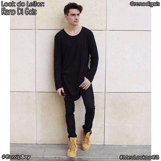 """Nosso segundo """"Look do leitor"""" do mês de Março é o modelo Reno Di Gois do instagram @renodigois:"""