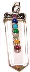 Chakra Healing Jewelry: Shield Pendant