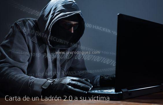 Carta de un ladrón 2.0 a su víctima