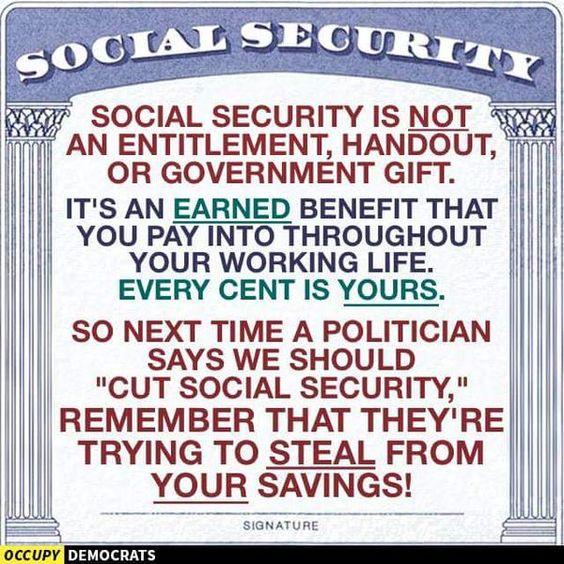 #BernieSanders wants to expand your #SocialSecurity Benefits! #FeeltheBern2016.