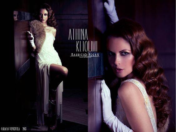 As ¨Tina, la asesina¨ en chicago musical Vzla by Luis Fernandez, composite by @mauriciovegas