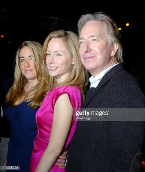 Alan Rickman,Arts Culture and Entertainment,Katharine Viner,Megan Dodds,New York City,Night,Party - Social Event,Theatrical Performance,USA