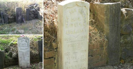 Wet & Forget Rescued these Famous Tombstones from Lichen and Mold!