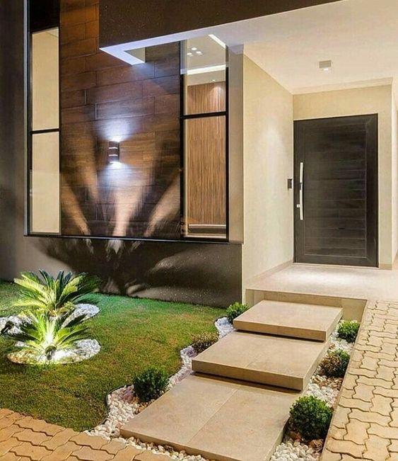 Decoracion De Interior Exterior Terraza Y Jardin Fachadas De