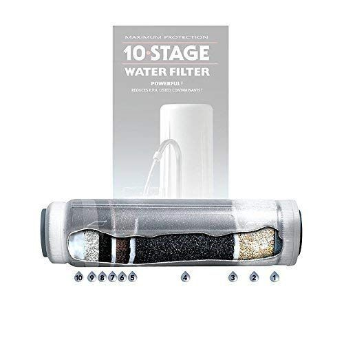 New Wave Enviro 10 Stage Water Filter Replacement Cartridge 796515300017