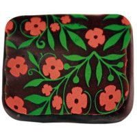it´s a piece of chocolate but I think that it would make a cute clutch
