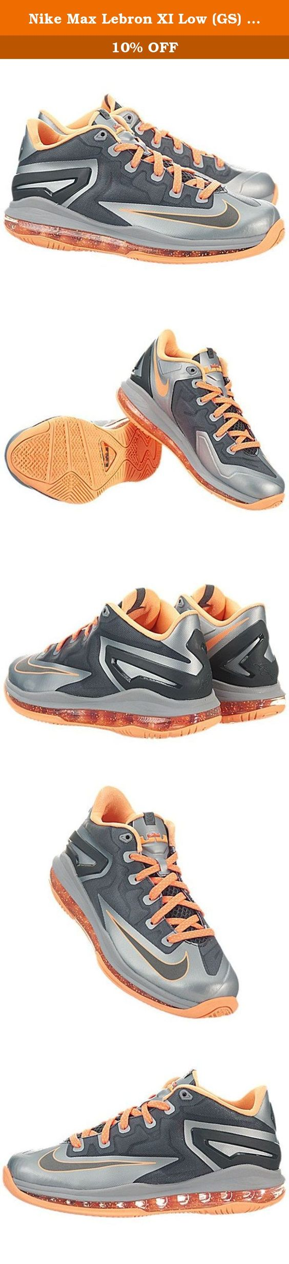 half off c11c4 44b7f ... nike max lebron xi low (gs) kids sneakers magnet grey bright .