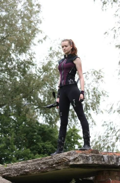 Hawkeye. Im sorry, i just really admire the fact she did a totally ba cosplay and didn't do the typical slutty version. THANK YOU!