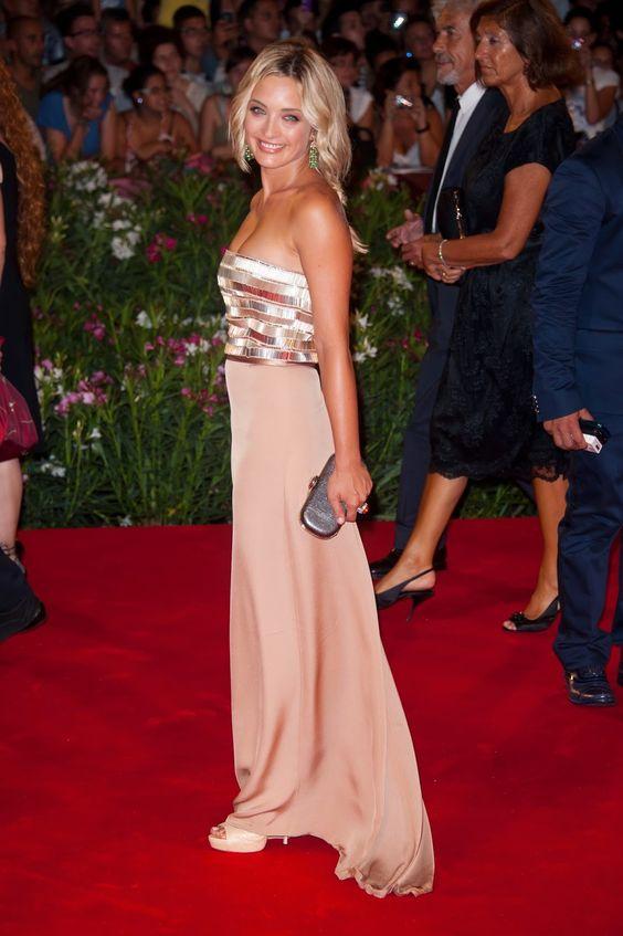 Los mejores vestidos de fiestas de famosas   Moda 2014
