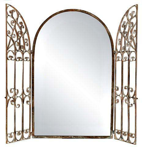 Captivating GARDEN GATE MIRROR +++ Retail Price $179.00, Now $69.00! | Wrought Iron |  Pinterest | Garden Gate, Gate And Wrought Iron Garden Gates
