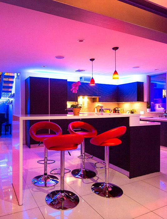 7 best led strip in bars and clubs images on pinterest led strip residential led strip lighting projects from flexfire leds mozeypictures Choice Image