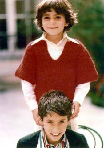 Princess Leila and Prince Ali Reza Pahlavi of Iran