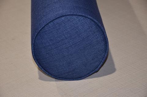 Wedge Bolster Cover 9754 Navy Blue.