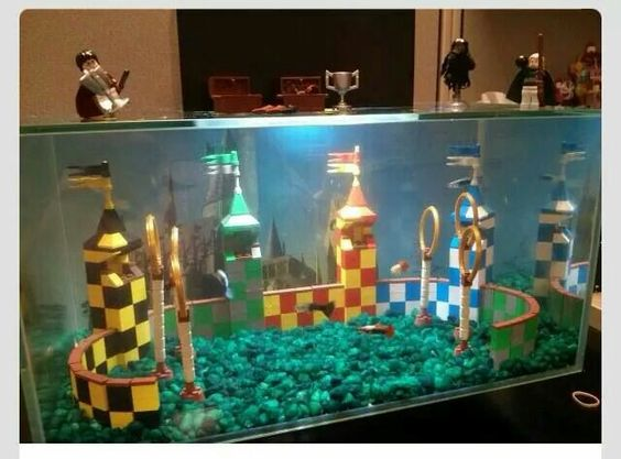 Pinterest the world s catalog of ideas for Harry potter fish tank