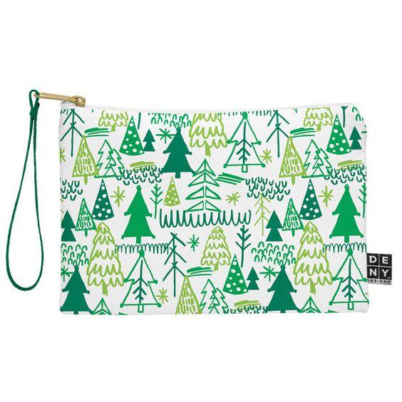 Zoe Wodarz Wonderland Forest Pouch | DENY Designs Home Accessories