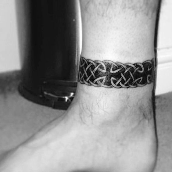Top 57 Ankle Band Tattoo Ideas 2020 Inspiration Guide Ankle Band Tattoo Band Tattoos For Men Ankle Tattoo Men