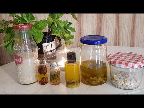 طريقة عمل زيت الكندر لبان الذكر مع زيت يخترق التجاعيد من الجذور Youtube Beauty Recipe Mason Jars Jar