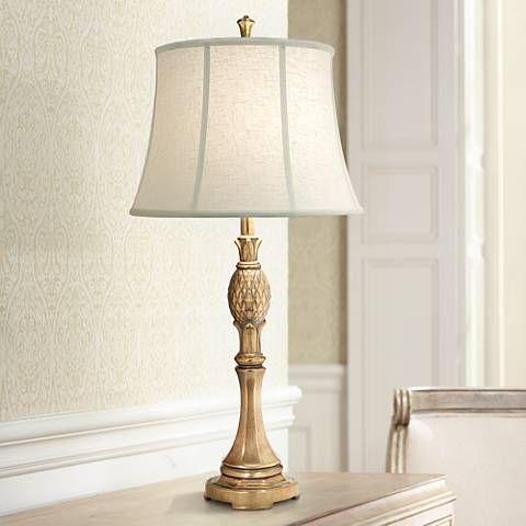 Stiffel Royal Maui Polished Honey Brass Metal Table Lamp 8n859 Lamps Plus Metal Table Lamps Traditional Table Lamps Table Lamp