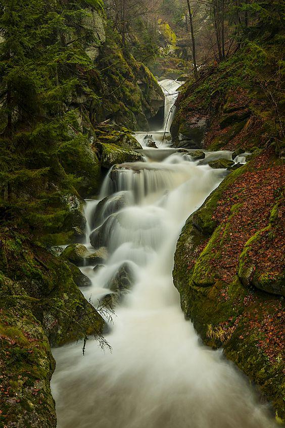 Wasserfall in der Stillensteinklamm