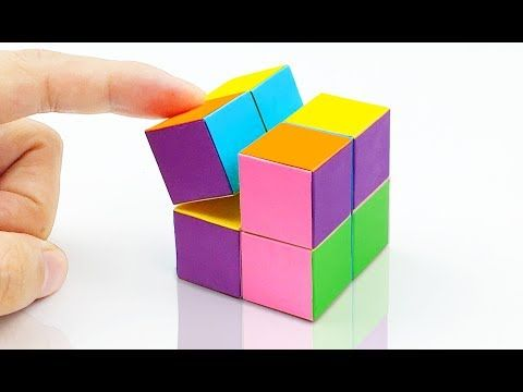62 How To Make A Paper Infinity Cube Easy Method Youtube