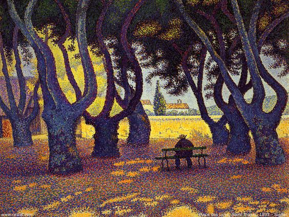 Place des Lices, Saint-Tropez - Paul Signac