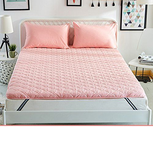 Hyxl Anti Mite Thicken Anti Skidding Tatami Mattress Pad Bed Cover