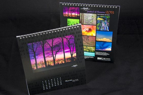 Contest: Print carbon neutral for free | Keith Lazelle 2013 Calendar