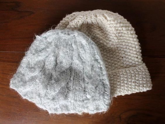 Lula Louise: Chunky Cable Knit Hat with Free Pattern Knit Pinterest Kni...
