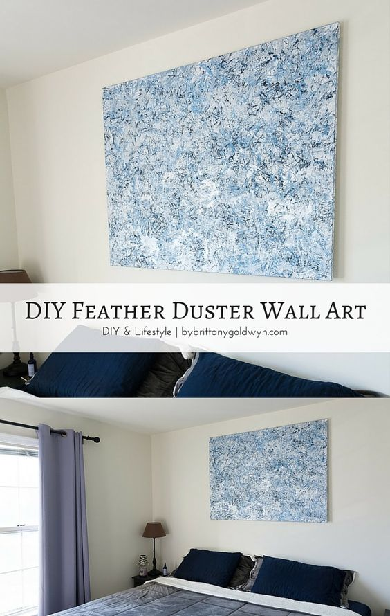 Blank canvas feathers and wall art on pinterest for Blank canvas designs wall art