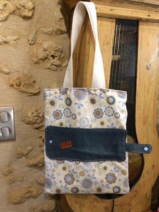 Tuto Tote Bag Madalena : madalena, Couture, Pliable, Pliable,