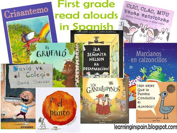 first grade read alouds in Spanish