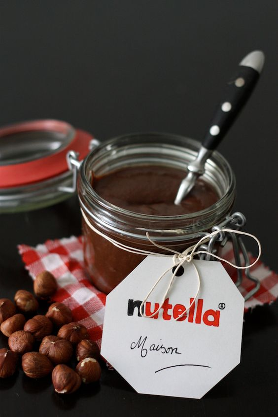 Pots fait maison and pots mason on pinterest - Nutella maison cuisine futee ...