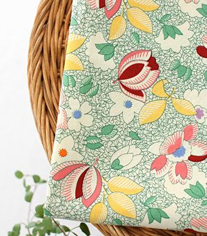 Lovely and unique floral cotton U3283 by UniqueShiny on Etsy,
