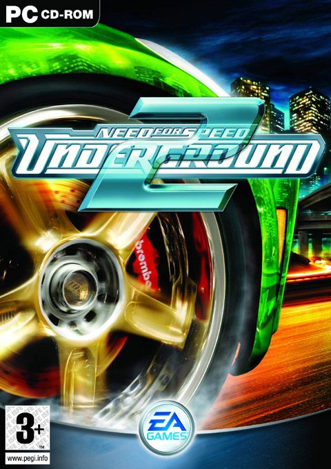 Need For Speed Undergorund 2 Juegos De Carreras Consola De Juegos Juegos