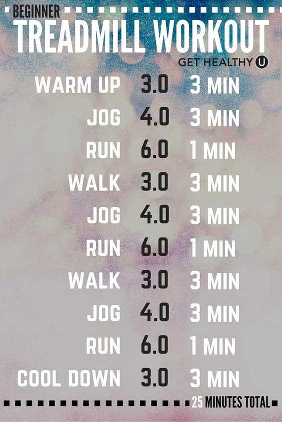 If you liked this quick 25 minute treadmill workout, TRY these 4 other treadmill workouts!
