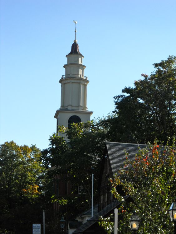 Historic Deerfield, MA | Here's The Church, Here's The ...