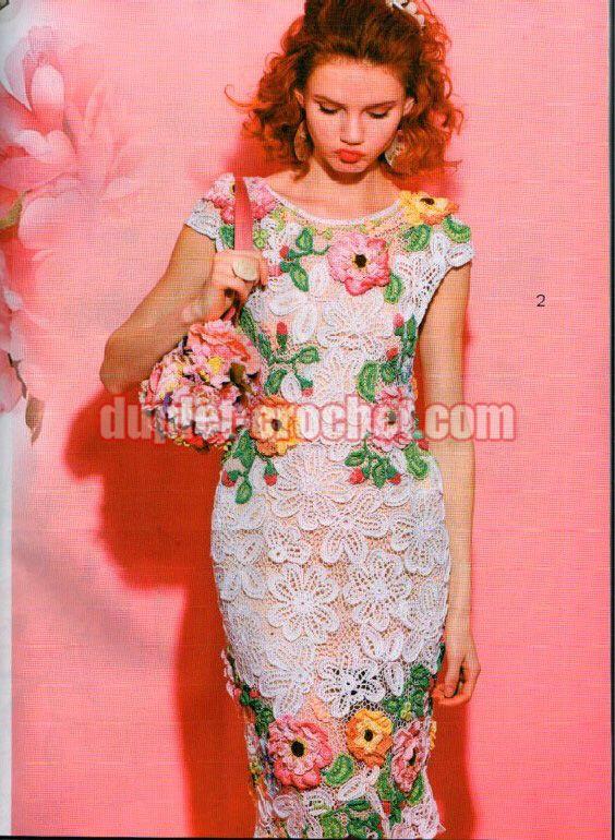 August 2016 Journal Jurnal Zhurnal MOD 600 crochet n knit patterns book magazine