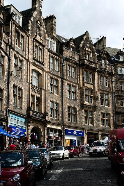 I've walked this street, and one day we will walk it together!    CockburnStreet, Edinburgh, Scotland