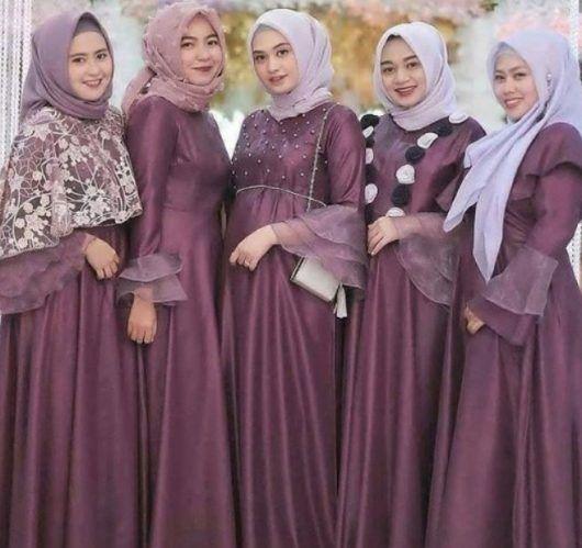 Model Baju Gamis Pesta Pernikahan